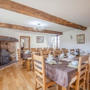 Holiday Cottage with large dining room